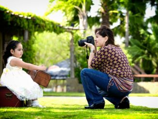Fotograf im Kindergarten
