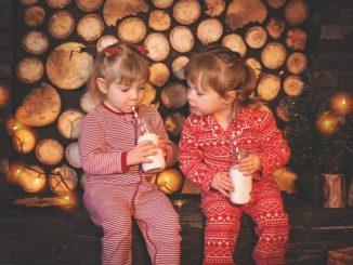 Weihnachtsvorbereitungen mit den Kindern