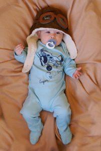 Strampler oder Baby Body