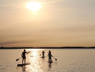 Stand up Paddling als Familie