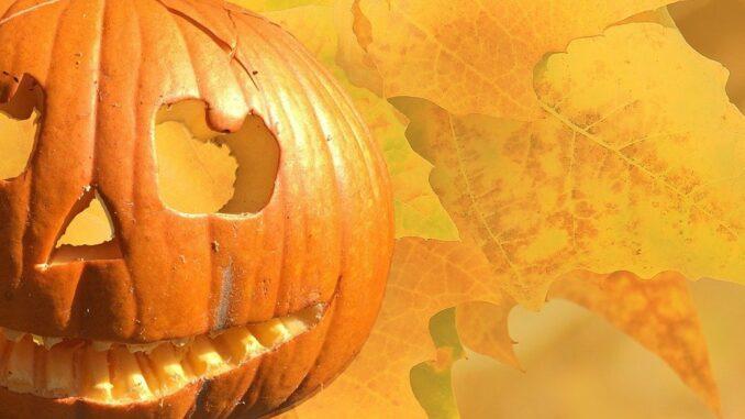 Halloween und der Halloweenkürbis