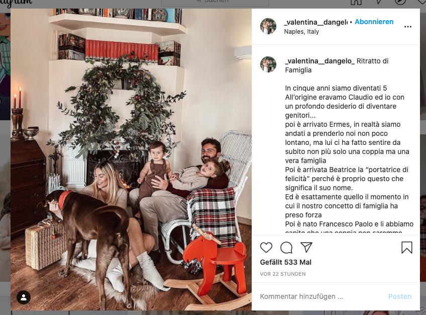 Weihnachten Fotos mit der Familie