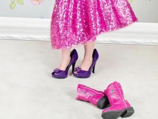 High Heels für Kinder?